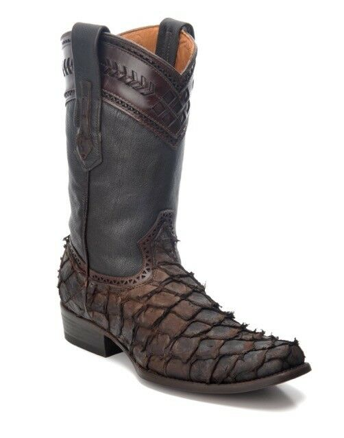 1J30PI Boots Genuine Pirarucu  Western Boots 1J30PI made by Cuadra a9ea01