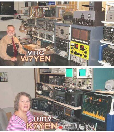 AMATEUR HAM RADIO DATACHART GENERAL INFO SMALL 2 SIDE