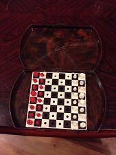 Fantastic Vintage Bakelite Travelling Chess Set