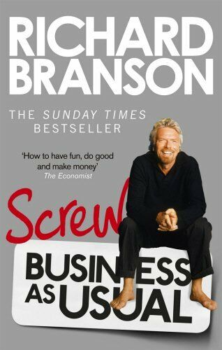1 of 1 - Screw Business as Usual by Branson, Sir Richard 0753540592 The Cheap Fast Free