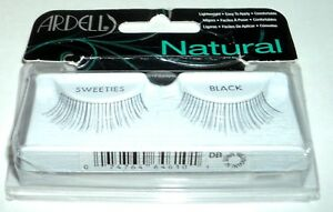 2ca63c0eab5 ARDELL 1 Pair of False Eyelashes SWEETIES BLACK Lightweight Easy To ...