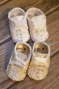 Ivory or White Christening Baby Boy Shoes. Beautiful Baptism Baby Boy Shoes