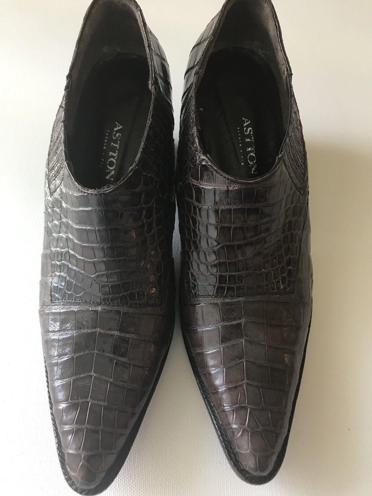 Astton Alligator Schuhes, Damenschuhe Größe 9