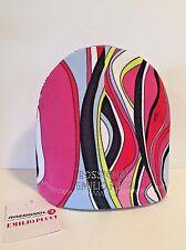 Vintage Rossignol Emilio Pucci Multi Color Rhinestone Encrusted Hat Ski Cap NEW