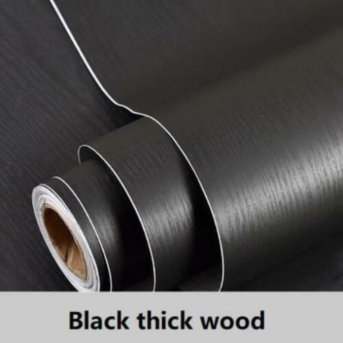 1-2M Waterproof Wood Wall Sticker Roll Self Adhesive Room Door Kitchen Furniture