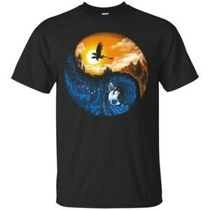 Hidden-World-T-Shirt-How-To-Train-Your-Dragon-3-Tee-Shirt-Short-Sleeve-S-5XL
