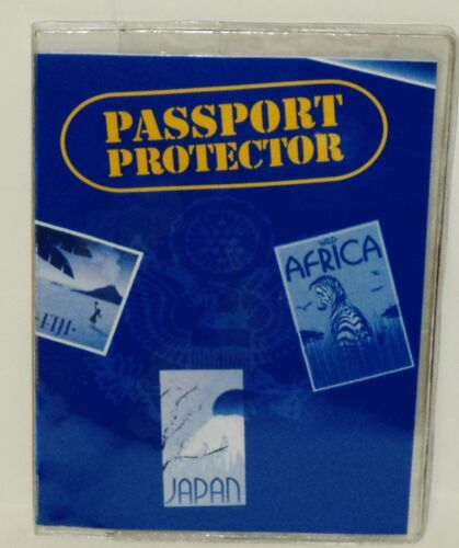 Protects Your Passport CLEAR Passport Protector