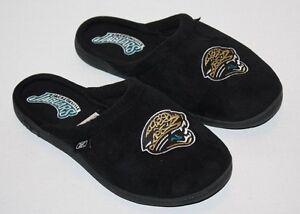 5f6bc4c0 Black Jacksonville Jaguars Slippers with Jaguar Head- Women Sz 6/7 ...