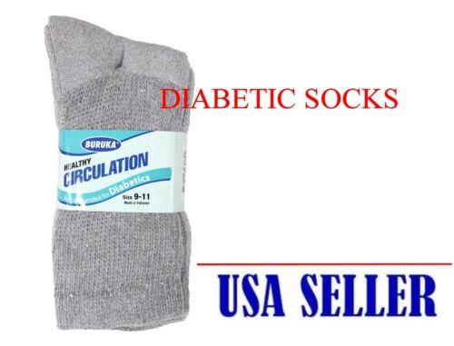 donna 3 per paia 6 Circolazione calze da da diabetica Buruka da Lotto 12 diabetiche uomo xaw1w0SHq