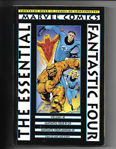 Essential-Fantastic-Four-1-1998-VF-TPB-1St-Print-Marvel-Comics