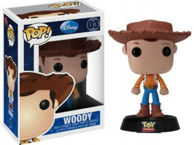 Disney Toy Story Woody Pop Vinyl 10cm Funko 03 Ebay