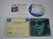 SONNY ROLLINS/A NIGHT AT THE VILLAGE VANGUARD 2(BLUE NOTE CP32-5225) CD ALBUM