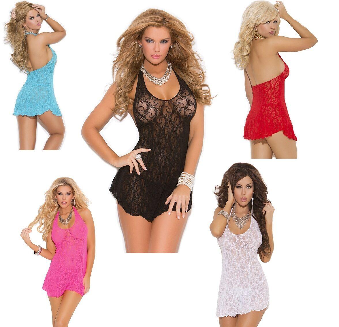 Red One /& Plus Size Black White Lace Halter Mini Dress 8-18 Elegant Moments