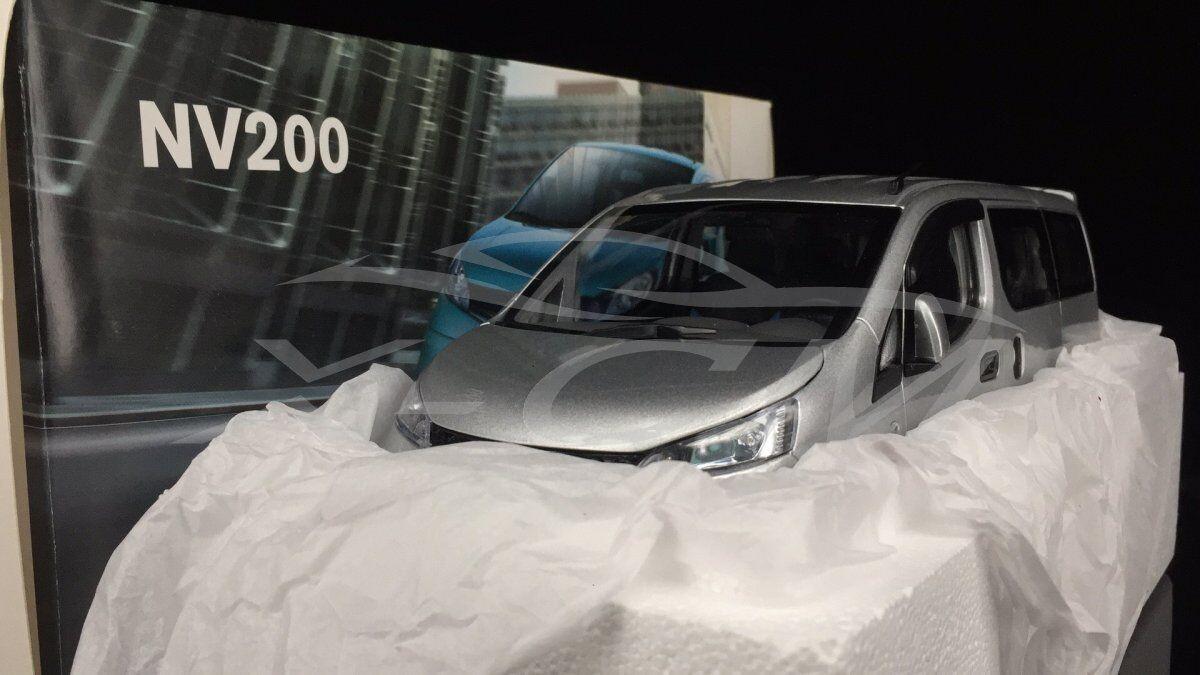 Diecast Car Model Nissan NV200 MPV MPV MPV 1 18 (Silver) + GIFT         e3e