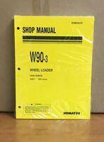 Komatsu W90-3 Wheel Loader Shop Manual 70001-up
