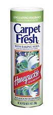 Carpet Fresh 275002 Rug and Room Deodorizer with Baking Soda 14 oz Honeys... New