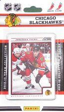 2012-13 Panini Score Hockey Factory Sealed Team Set Chicago Blackhawks (12 Card)