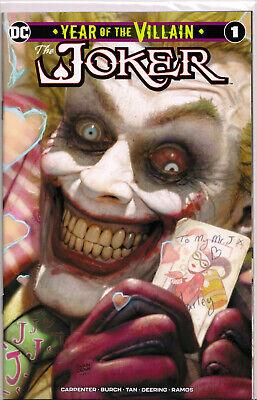 "~ DC Comics YEAR OF THE VILLAIN #1 KENDRICK LIM /""KUNKKA/"" EXCLUSIVE JOKER"
