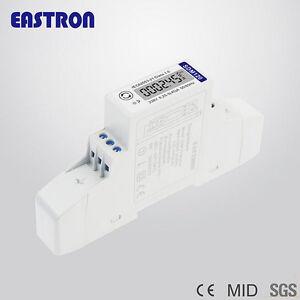 EASTRON-SDM120-MODBUS-45A-CONTATORE-RS485-MONOFASE-1-DIN-LCD-SDM120C