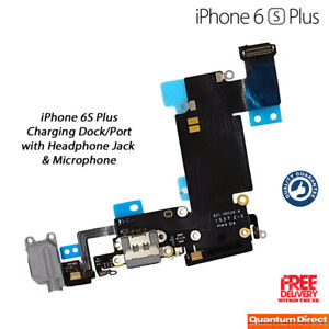 Details About New Iphone 6s Plus Charging Port Lightning Connector Headphone Jack Replacement