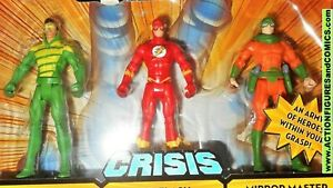 DC UNIVERSE Infinite Heroes CRISIS  Weather Wizard The Flash Mirror Master NOS