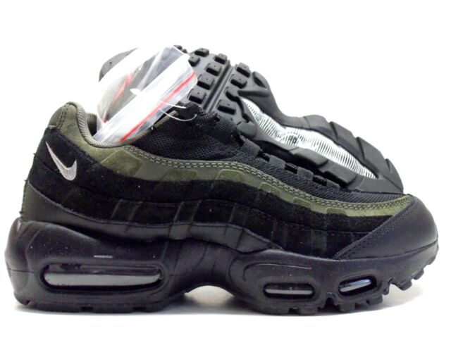 brand new bc9d3 be5c5 Nike Air Max 95 Hal Black Cargo Khaki Patches Ah84444 001 Men's Size ...