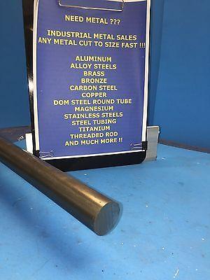 "1.25/"" Diameter X 12/"" Long C1018 Steel Round Bar Rod"