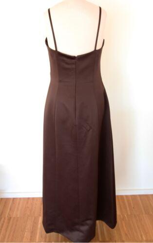 Langes Ambiance Gr Kleid 38 Abendkleid Braun WSTqYTwd