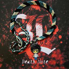 Death Note Friendship bracelet with 'L' charm  FREE P&P! (deathnote)