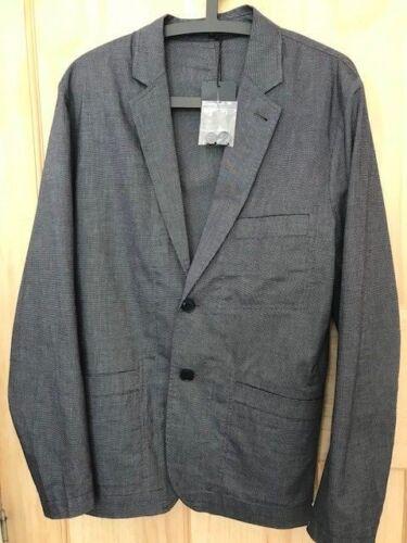£235 Smart Coat blue Cotton Rrp Smith Tags Grey Blazer Paul New Jacket S m w1X6qUx