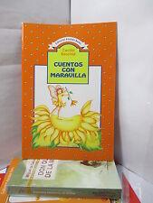 CUENTOS CON MARAVILLA Spanish CHILDREN Literature Libros en Espanol Para Ninos