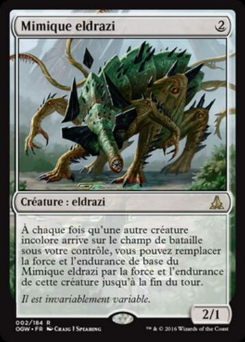 MRM FRENCH Mimique eldrazi Eldrazi Mimic MTG magic OGW