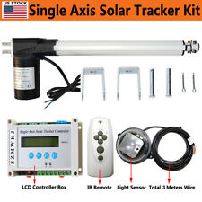 Single Axis Solar Tracking Tracker 6000n 12 Linear Actuator Lcd Controller Kits