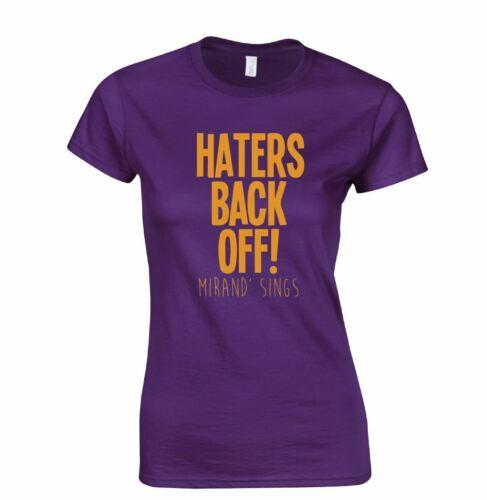 Pièces de retour off Miranda YouTube Inspiré Blogger Present Funny Top T-shirt women