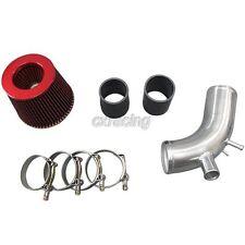 Turbo Air Intake Pipe kit For 07 + Mit. Lancer Evolution EVO X 10 Black Hose