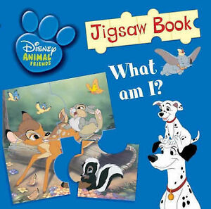 Disney-Baby-Animals-Jigsaw-Book-Disney-Jigsaw-Books-by-Acceptable-Used-Book