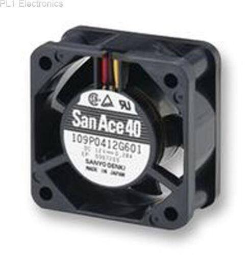SANYO DENKI - SANACE FANS - 109P0424H602 - FAN,AXIAL,24VDC,40X40MM