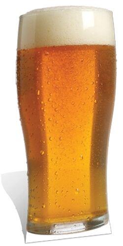 Pinte de bière-carton Lifesize Découpe présentoir