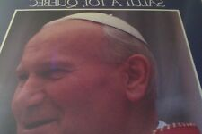 CATHOLIQUE/ CATHOLIC CHURCH/ JEAN PAUL II IN QUEBEC CITY LP/ 1984 ( IN FRENCH)