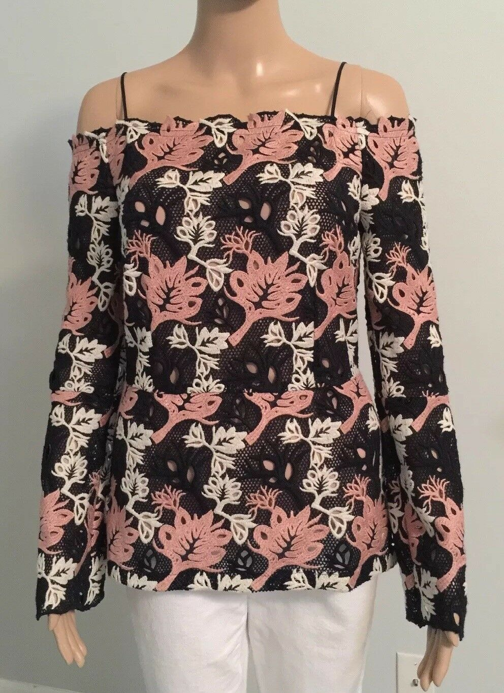 Yigal  Azrouel Open Shoulders Women Top Size 4 New with Tags