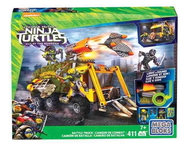 Mega Bloks Turtles Movie Van 2 411 Piece Playset (Ages 4+) BRAND NEW