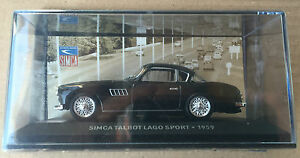 DIE-CAST-034-SIMCA-TALBOT-LAGO-SPORT-1959-034-SIMCA-COLLECTION-SCALA-1-43