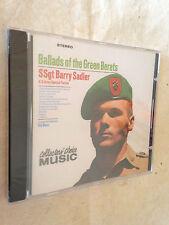 SSgt BARRY SADLER CD BALLADS OF THE GREEN BERETS CCM037-2 1997 POP