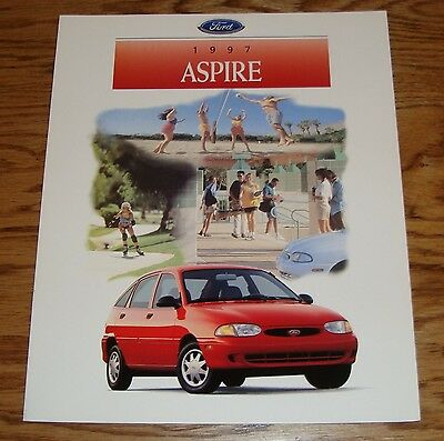 1994 Ford Aspire Kia 121 Original Sales Brochure Book