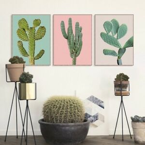 Minimalist-Tropic-Cactus-Plant-Poster-Nordic-Home-Decor-Wall-Art-Canvas-Painting