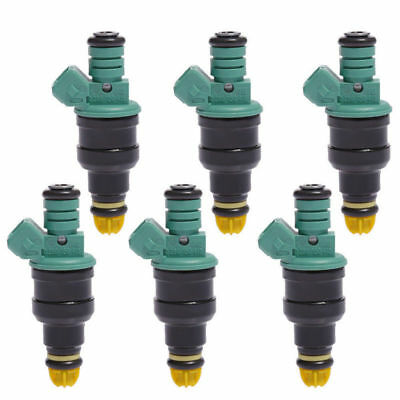 6Pcs OEM 0280150415 Flow Matched Fuel Injector For BMW 325i 325is 525i M3 2.5L