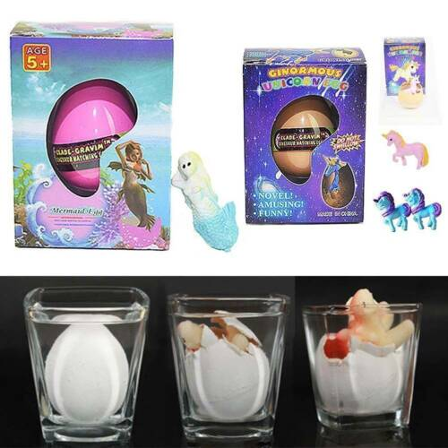 Hatching Dinosaur Egg Growing In Water pets Children Kids Magic Gift Toy Animals