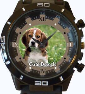 Beagle-NEUF-GT-Serie-Sport-Unisexe-cadeau-montre-bracelet