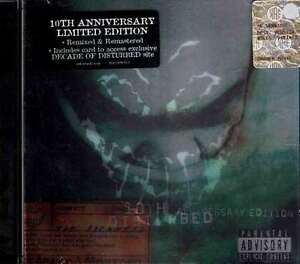 DISTURBED-The-Sickness-10th-Anniversary-Edition-Cd-Warner-Nuovo-Sigillato