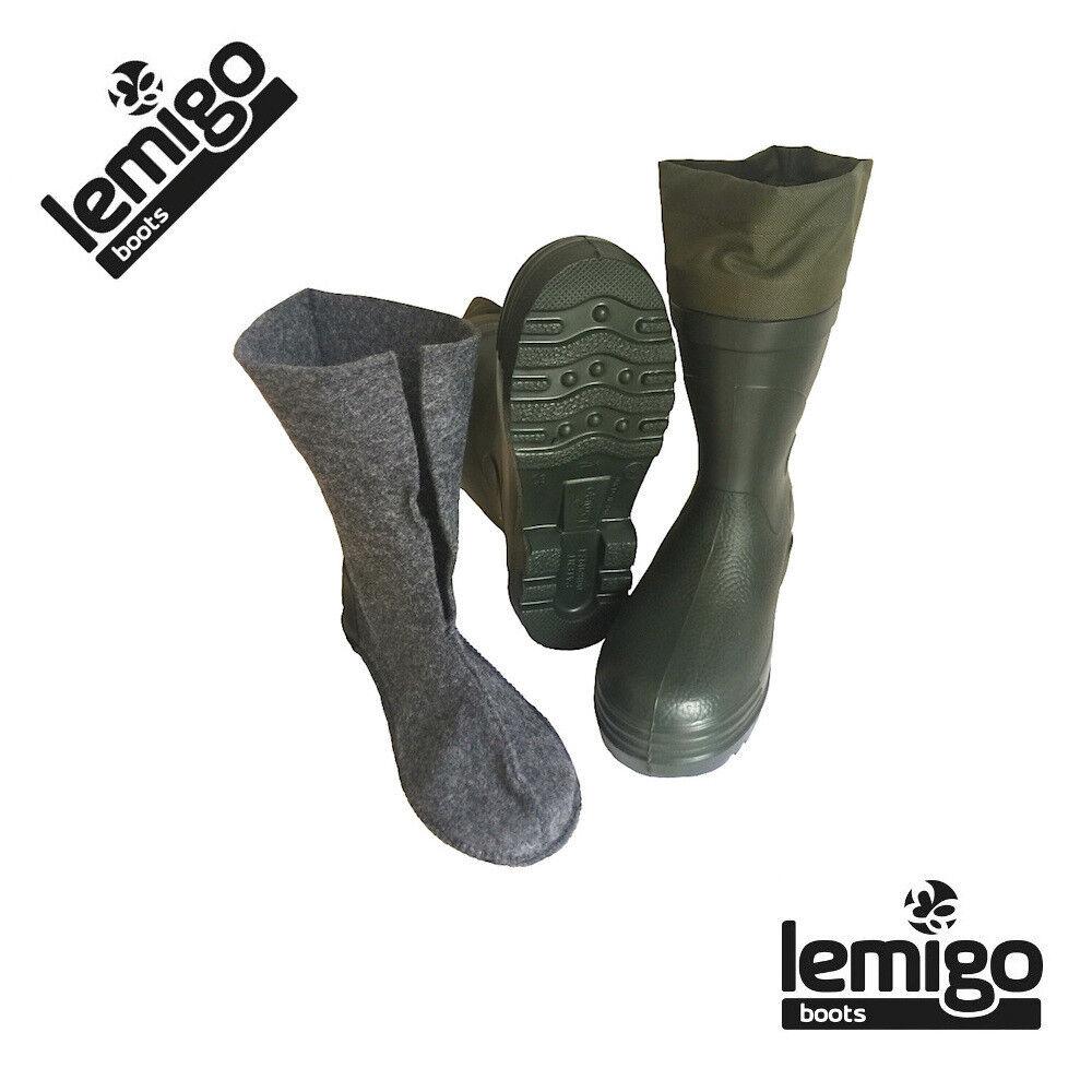 LEMIGO STIVALE TERMICO ARCTIC MENO 30° SUPERLEGGERO CON IMBOTTITURA ESTRAIBILE